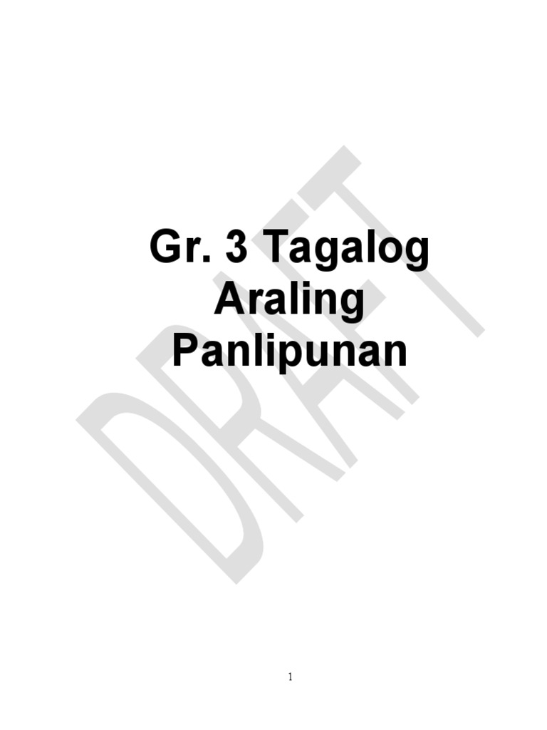 Gr. 3 AP Tagalog Q1