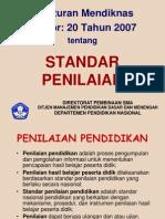 6 Permendiknasno 20tahun2007standarpenilaian 090608115013 Phpapp02