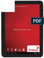 2012 Dialog Axiata Sustainability Report