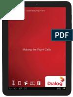 2012 Dialog Axiata Sustainability Report
