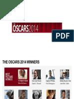Oscars 2014 Winnners