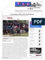 La Justicia Muy Otra de Galeano - Periódico Diagonal