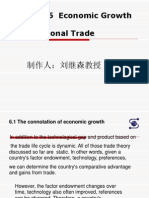 CH6 Economic Growth and International Trade