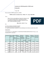 Calcul Du NPSH Disponible