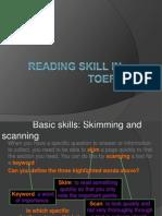 Reading Skills in TOEFL Baru - Copy