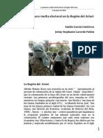 La Primera Vuelta Electoral en La Región Del Ariar1
