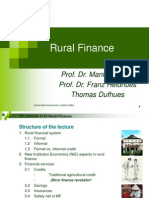 Lecture Rural Finance 1