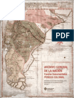 Archivo Gral de La Nación- Colonia