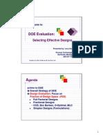 DOE Evaluation Presentation