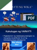 FIL101-Varayti Ng Wika.ppt 2