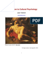 Valsiner Invitation to Cultural Psychology Final 8-21-13