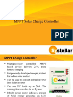 MPPT Charge Controller With Hybrid Functioning