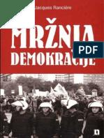 Jacques Ranciere - Mržnja Demokracije