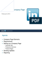 How to Build a Company Page