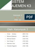 10. Sistem Manajemen K3