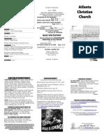 June 1, 2014 Trifold Bulletin(1)