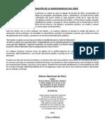 Proclamación de La Independencia Del Perú-Actuacion