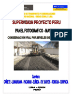 Via Ronchas Lima -Mantenimiento