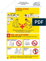 Weekly Safety Topic 18-Feb-2013_Health Effects of Heat