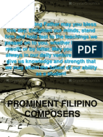 Music - Filipino Composers