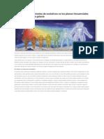 Densidades Como Niveles de Evolutivos vs Los Planos Frecuenciales de La Creación en La Galaxia