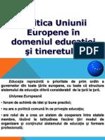 Politica UE in domeniul Educatiei