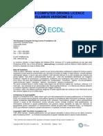 Syllabus ECDL -programma-