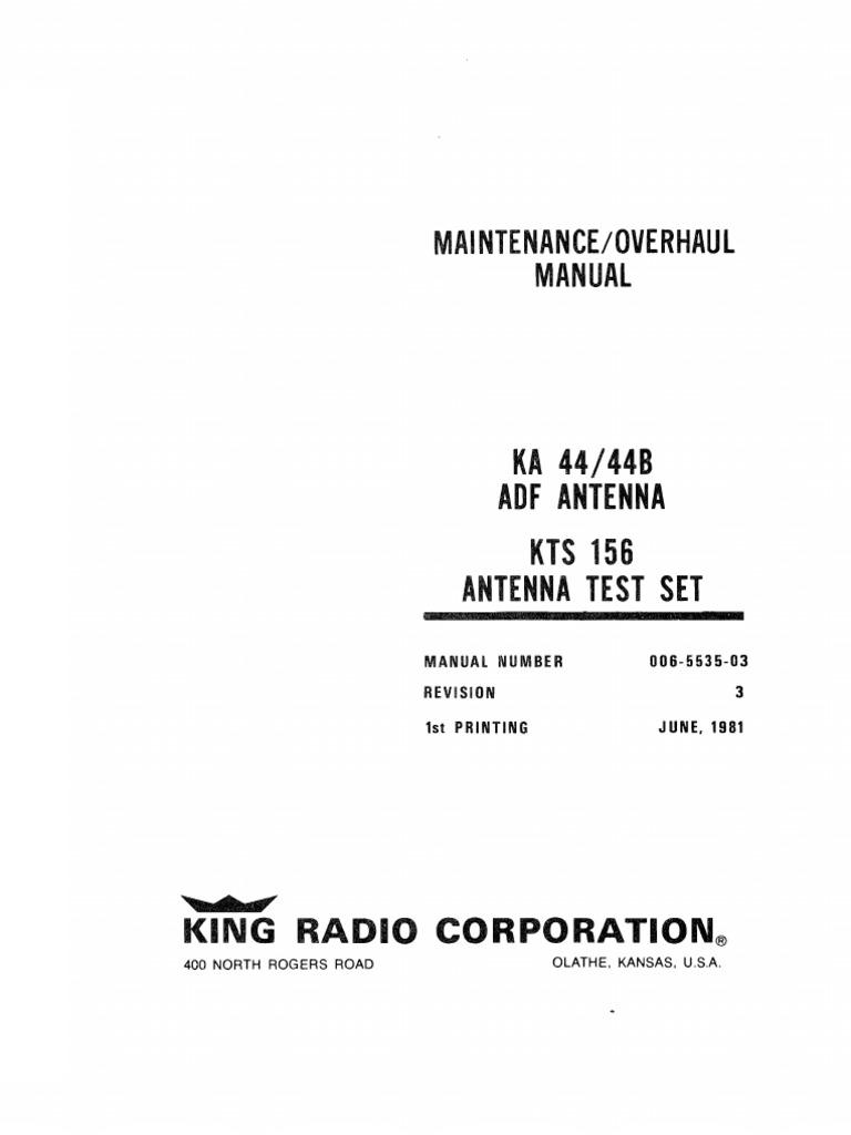 Ka 44b Maintenance Amplifier Field Effect Transistor Booster Antenna Circuit 550khz To 1650khz