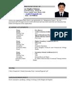 Mojib New CV 2013
