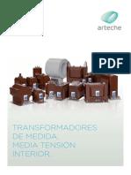 Transformadores de Medida Media Tension Interior