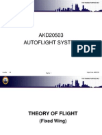Teory of Flight (Fixed Wing)