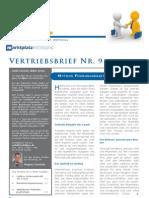 dipeo Vertriebsbrief November 2009