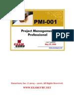 PMP-PMI-001