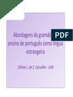 Orlene Abordagens Da Gramática e PFL