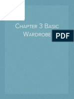 Chapter 3 Basic Wardrobe