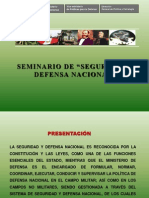 8. Defensa Nacional