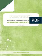 Preparação Para Prova Final de Português 9º Ano 3º Ciclo