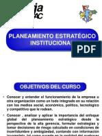 01. Plan Estrategico Institucional