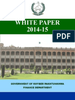 White Paper on KP Budget 2014-15