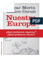 Nuestra Europa (Edgar Morin & Mauro Ceruti)