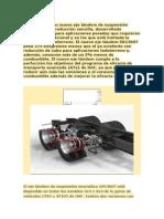 DAF Presenta Un Nuevo Eje Tándem de Suspensión Neumática Con Reducción Sencilla