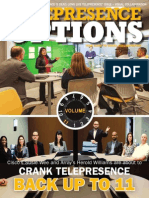 Array Telepresence is the Cover Story in Telepresence Options Magazine