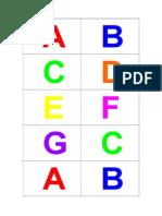 Musical Alphabet Cards