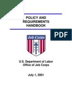job corps handbook