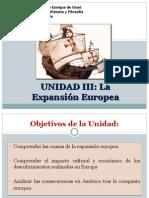 UNIDAD III Expansión Europea