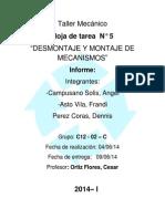 187073826 461 Informe de Taller Mecanico n 5 Docx (1)