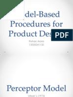 Market Modelling for Product Design
