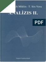 Laczkovich T.ss Analizis 2