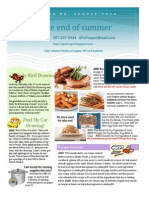 Customer Newsletter #8 2014