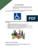 Imforme de Discapacidad